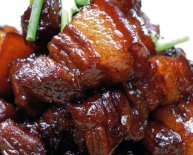 Stew pork belly Chinese recipe