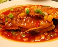 Sweet and sour fish fillets Chinese recipe