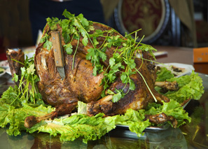 whole roast lamb